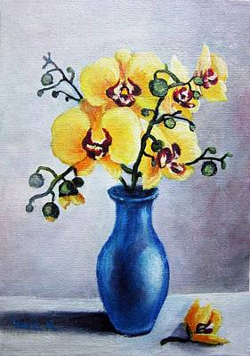 Painting - Blue And Yellow by Vesna Martinjak