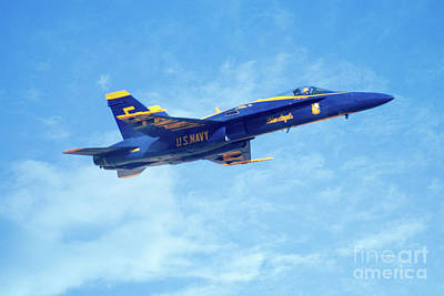 Photograph - Blue Angel #5 In Arizona by Bob Hislop