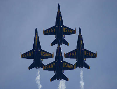 Photograph - Blue Angel Diamond by Chris Alberding
