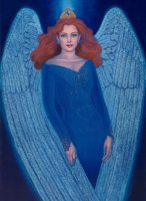 Painting - Blue Angel by Sue Halstenberg