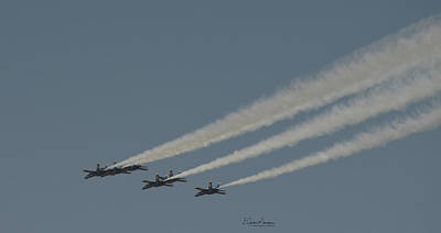 Photograph - Blue Angels 11 by Gordon Mooneyhan
