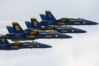 Photograph - Blue Angels 15 by Susan McMenamin