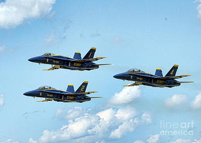 Photograph - Blue Angels 2 by Jim Poulos