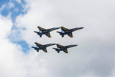 Blue Angels 2 Art Print by Pelo Blanco Photo