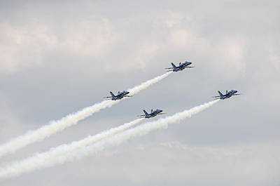 Photograph - Blue Angels 5 by Susan  McMenamin