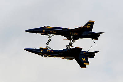 Bringing The Outdoors In - Blue Angels #6 by Rob Narwid