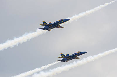 Photograph - Blue Angels 6 by Susan McMenamin