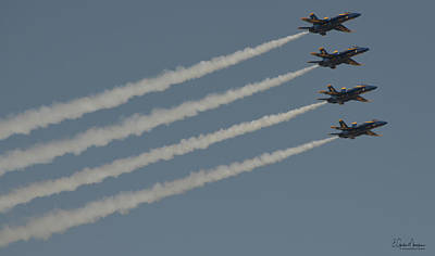 Photograph - Blue Angels 8 by Gordon Mooneyhan