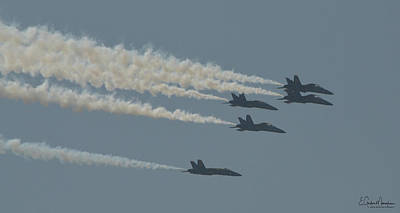 Photograph - Blue Angels 9 by Gordon Mooneyhan