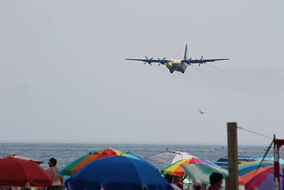 Photograph - Blue Angel's Fat Albert by Robert Banach