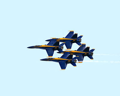 Photograph - Blue Angels Formation I by Gigi Ebert