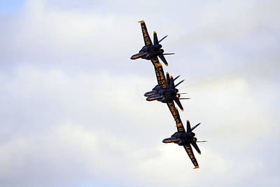Photograph - Blue Angels Formation Iv by Gigi Ebert