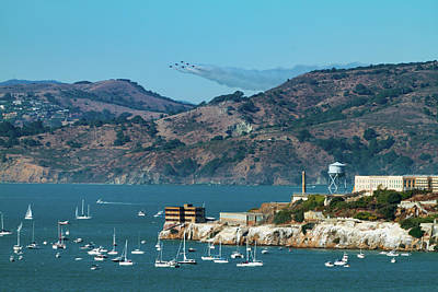 Photograph - Blue Angels Incoming by Bonnie Follett