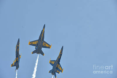 Photograph - Blue Angels by Jim DeLillo