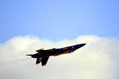 Photograph - Blue Angels Maneuver by Gigi Ebert