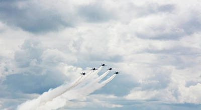 Blue Angels Art Print by Pelo Blanco Photo