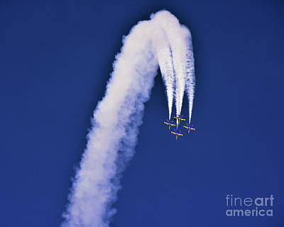 Photograph - Blue Angels Power Loop by Scott Cameron