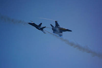 Photograph - Blue Angels  by Raymond Salani III