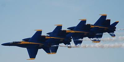 Photograph - Blue Angels by Renee Holder