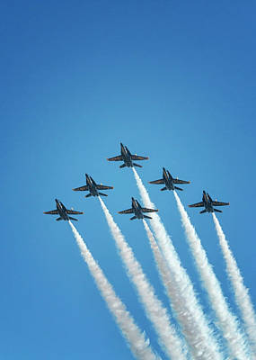 Photograph - Blue Angels by Travis Rogers