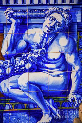 Photograph - Blue Anguish Portugal by Rick Bragan