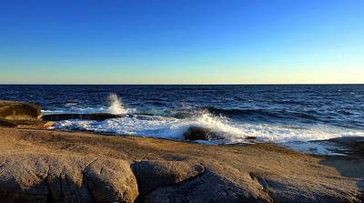 Photograph - Blue Atlantic by Heather Vopni