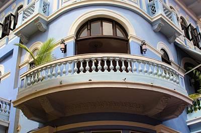 Photograph - Blue Balcony  by Douglas Pike