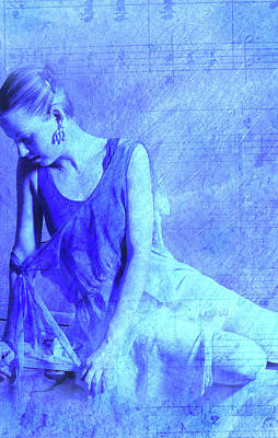 Blue Ballerina  Art Print by Joe Klune