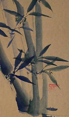 Blue Bamboo Original by Robin Miller-Bookhout
