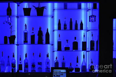 Photograph - Blue Bar by Clayton Bruster
