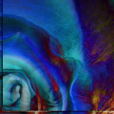 Digital Art - Blue by Barbara Berney