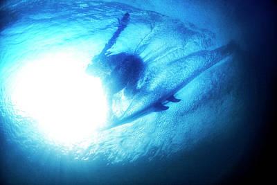 Photograph - Blue Barrel by Nik West