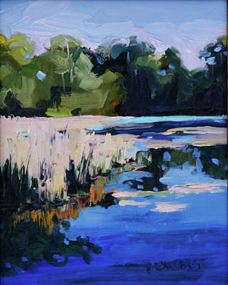Painting - Blue Bayou by Barbara Jones