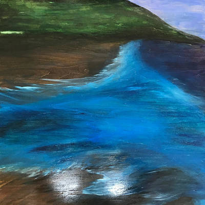 Painting - Blue Bayou by Susi Schuele