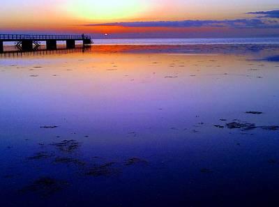 Blue Beach Original by Anders S