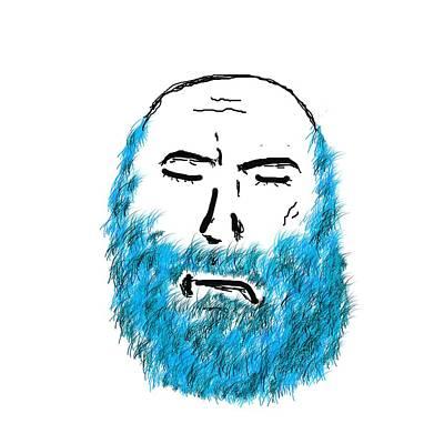 Blue Beard Original by Bill Owen