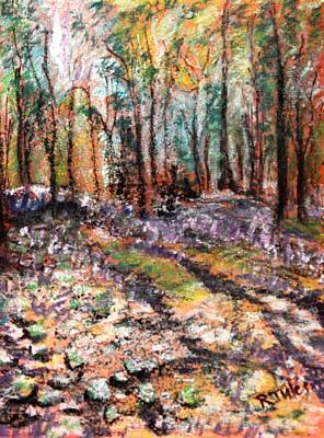 Painting - Blue Bell Woods by Richard Jules