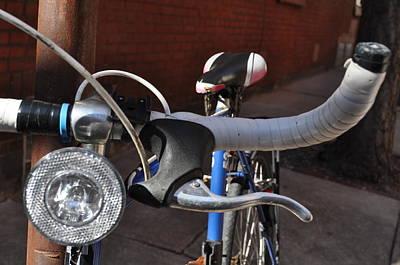 Photograph - Blue Bike by Brynn Ditsche