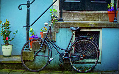 Photograph - Blue Bike by Jill Smith