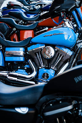 Photograph - Blue Bike by Tony Reddington