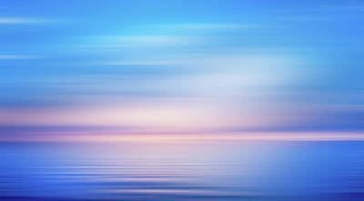 Photograph - Blue Bliss In The Morning by Georgiana Romanovna