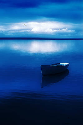 Wall Art - Photograph - Blue Blue Boat by Mal Bray