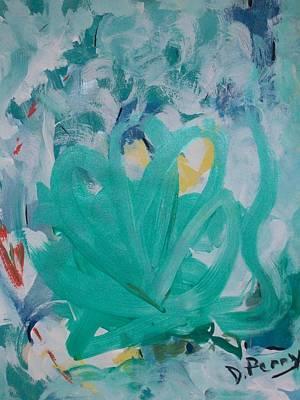 Blue Blue Art Print by D Perry