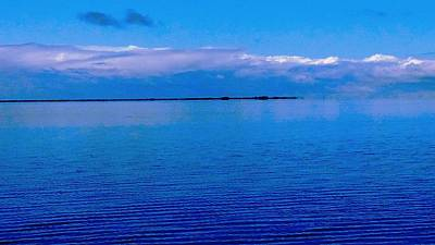 Photograph - Blue Blue Sea by Vicky Tarcau