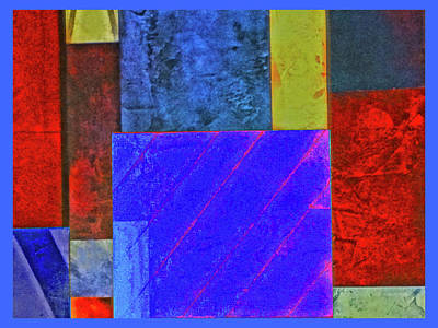 Photograph - Blue Box by Bruce Iorio