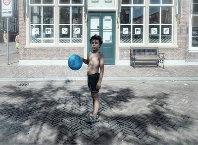 Photograph - Blue Boy by Michel Verhoef