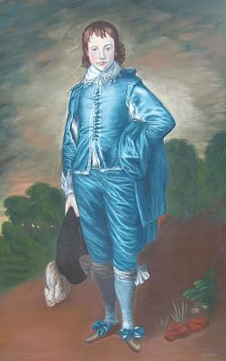Painting - Blue Boy nr. 8 by Philipp Merillat