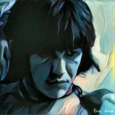 Digital Art - Blue Boy by Rein Nomm