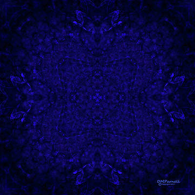Sextet Digital Art - Blue Breakthrough Royal 1 by Diane Parnell