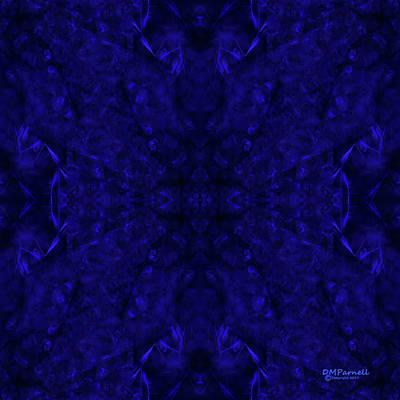 Sextet Digital Art - Blue Breakthrough Royal 4 by Diane Parnell